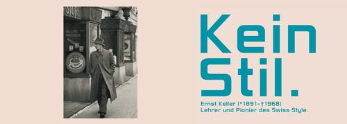 Book launch: No Style. Ernst Keller - Teacher and Pioneer of the Swiss Style