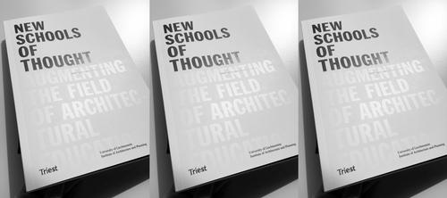 Buchvernissage New Schools of Thought