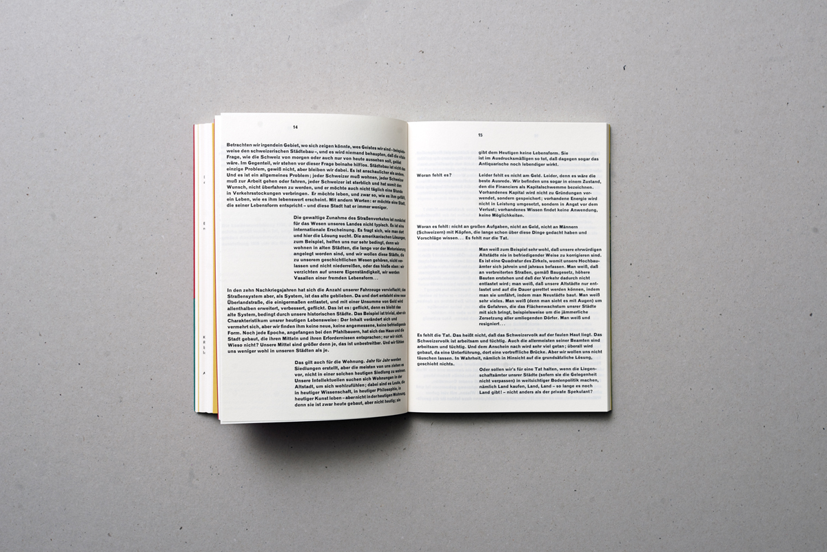 achtung: die Schriften (2880) | Architecture | Book | Triest