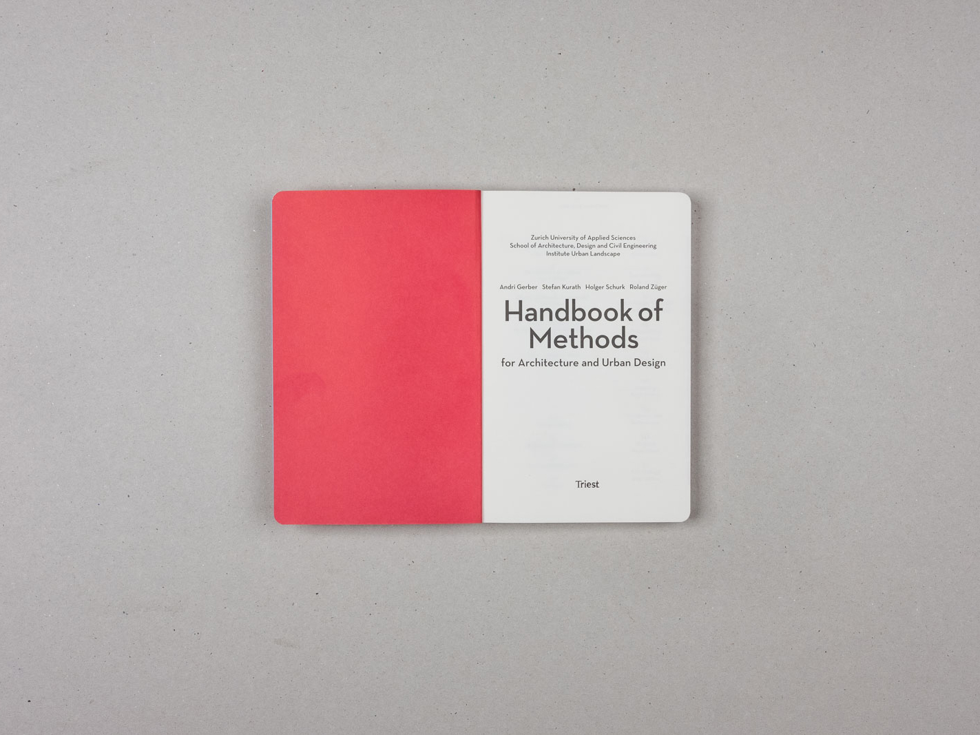 Handbook of Methods for Architecture and Urban Design - 1