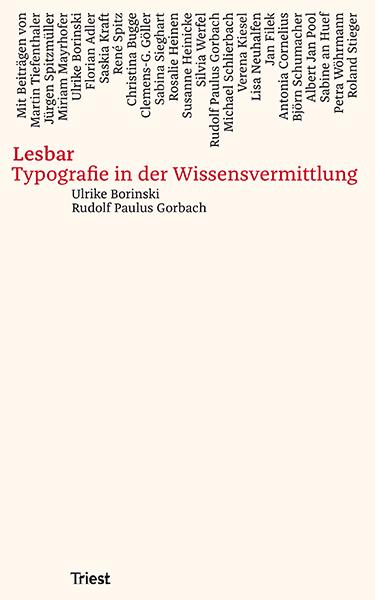 Lesbar. Typografie in der Wissensvermittlung